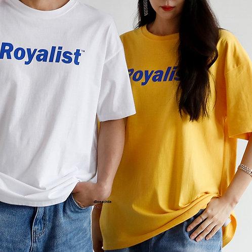 Royalist Korean Shirt [YLW/WHT]