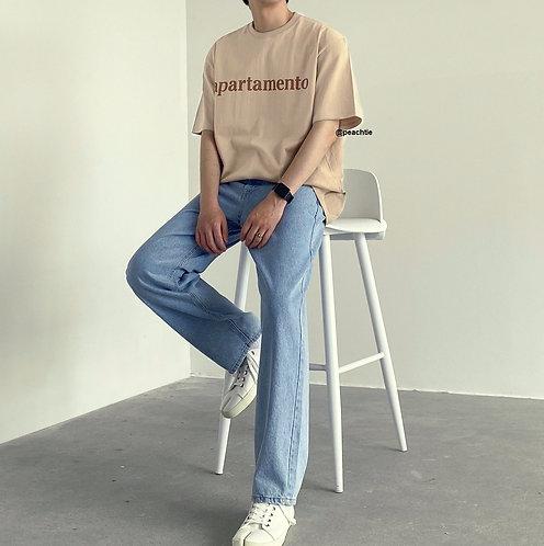 Apartamento Korean Shirt Unisex [LTTE/BLK]
