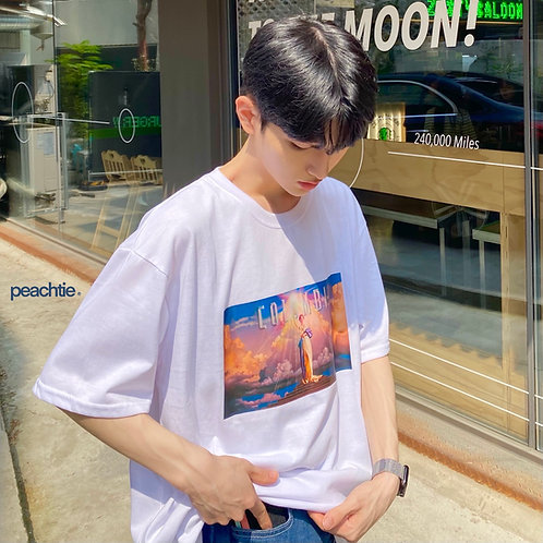 COLUMBIA Korean Shirt [BLK/WHT]