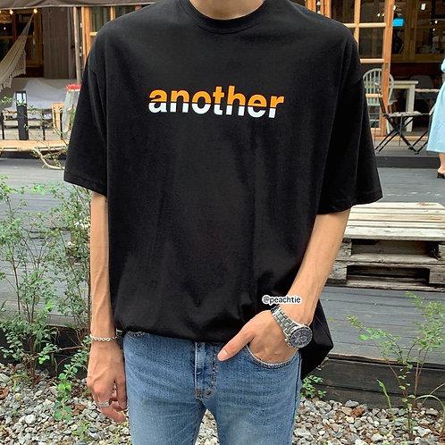 Another Korean Shirt [BLK/WHT]