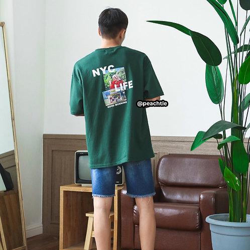 MORNING korean shirt [GREEN]