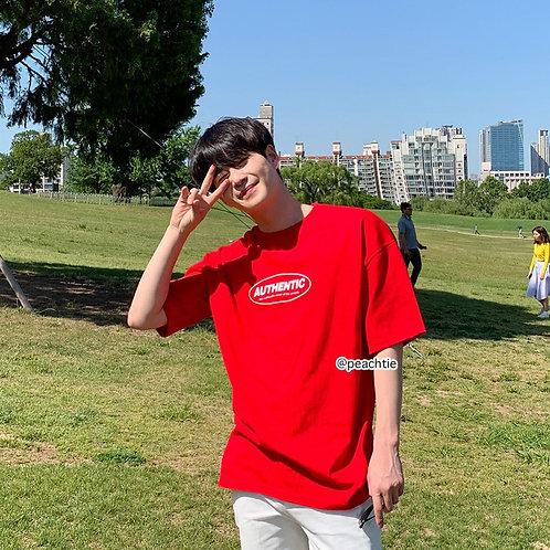 Authentic Korean Shirt [RED]