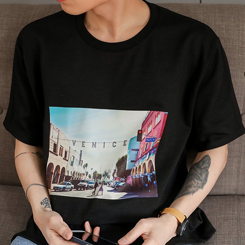 VENICE Korean shirt [BLACK]