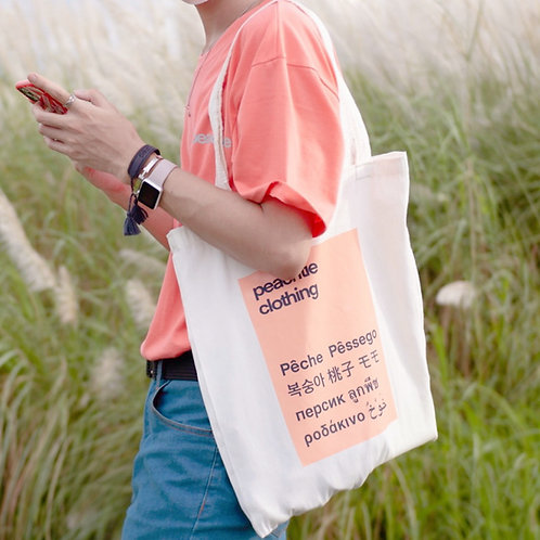 Peachtiefest  Totebag[Big Size]