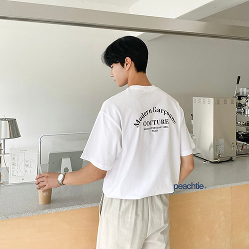 Modern Korean Shirt Unisex [WHT]