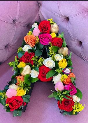 Letra Fresas & Rosas