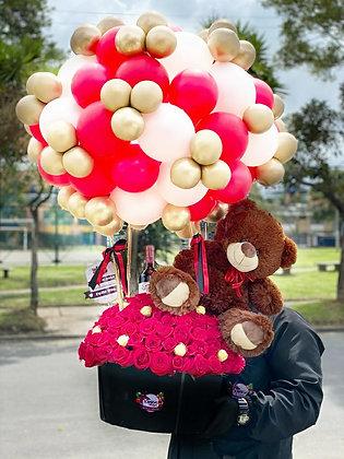 Love In Rose Bear