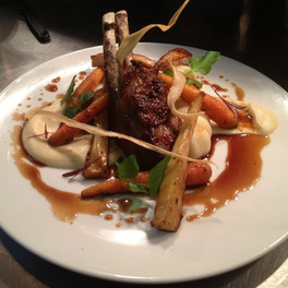 Lamb Shank and Roasted Roots