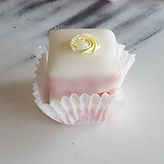 Strawberry Lemonade Petit Four
