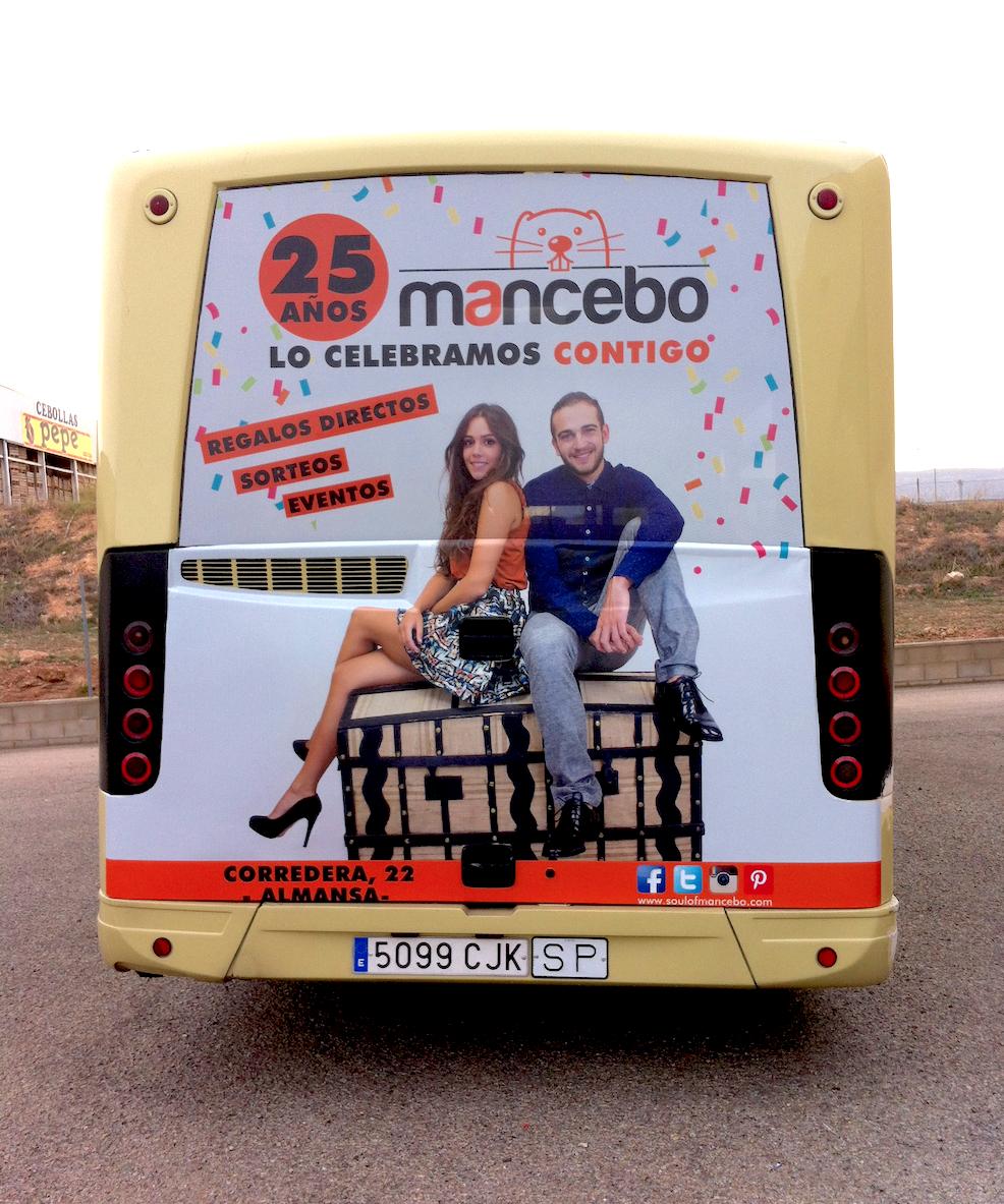 MANCEBO ROTULACIÓN BUS