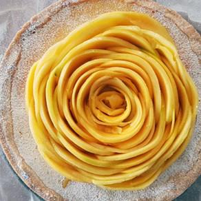 Mango-Rose Tarte