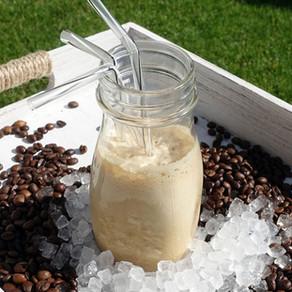 Cremiger Eiskaffee
