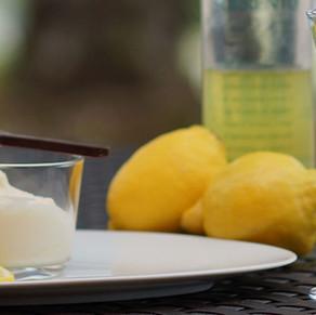 Zitronen-Limoncello Creme