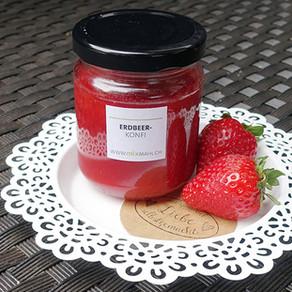 Erdbeer Konfitüre