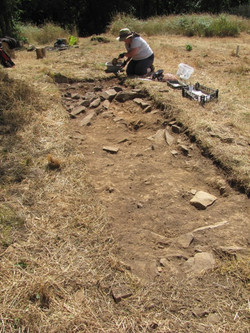 Trench 2 looking S