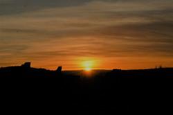 Winter Solstice Sunset, West Gateway