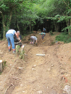 Trench 1 looking E