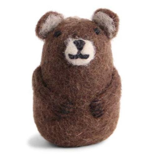 Brown Bear Ornament (MIN 8)