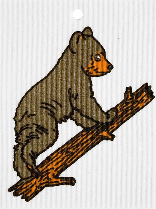 Bear Cub on Branch by Harry W. Smith Wash Towel (MIN 6)