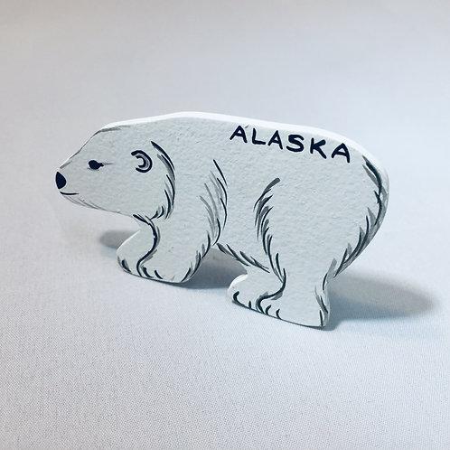 Alaska Polar Bear Magnet