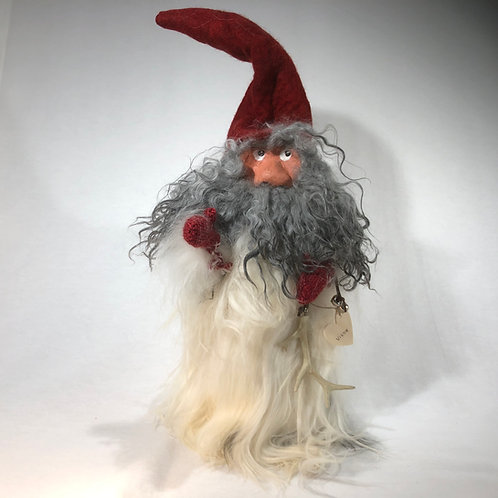 Large Red Winter Gnome