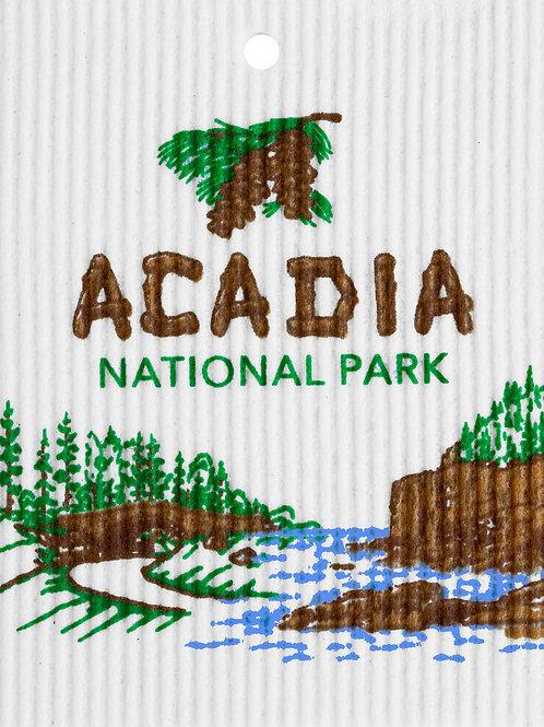 Acadia National Park by Harry W. Smith Wash Towel (MIN 6)