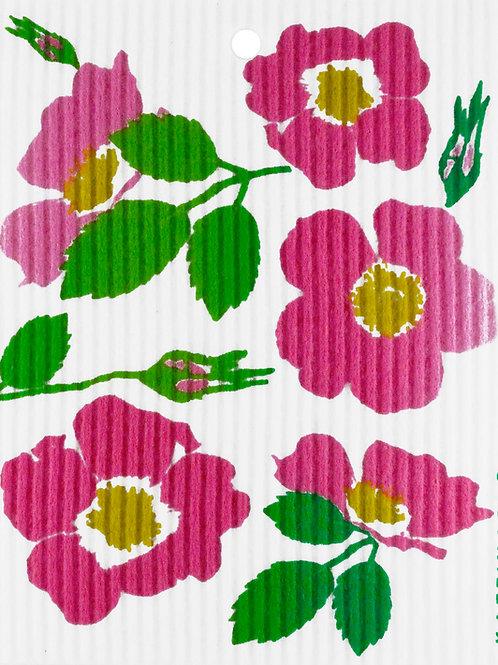Wild Roses Wash Towel (MIN 6)