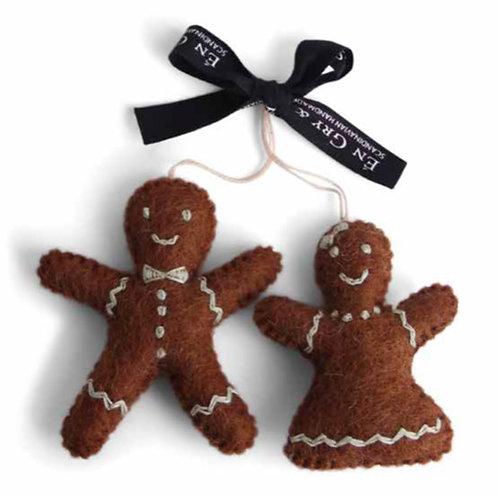 Gingerbread Man & Woman Ornament (MIN 8)