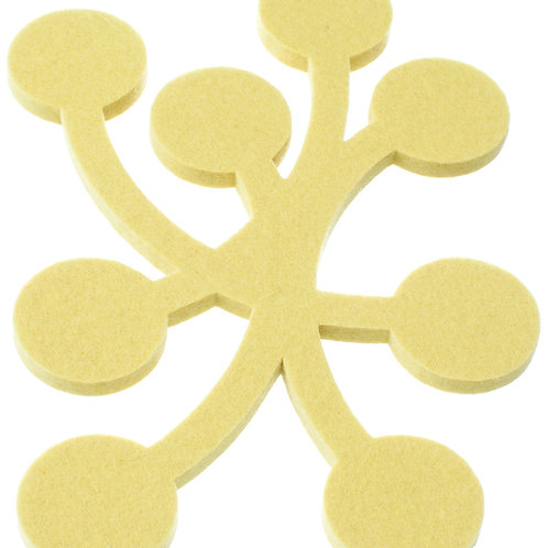 Small Yellow Marja Trivet