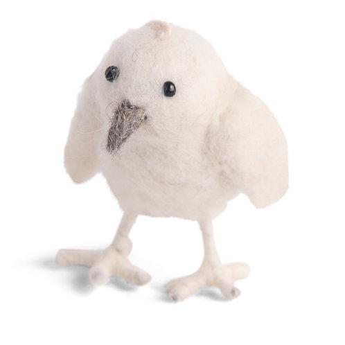 White Mini Chicken Ornament (MIN 6)