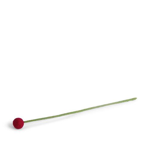 Small Cerise Flower, pkg of 6 (MIN 1)