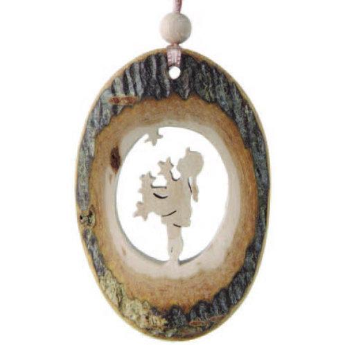 Star Money Oval Ornament