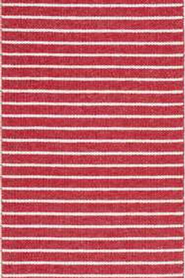 Small Red Music Rug