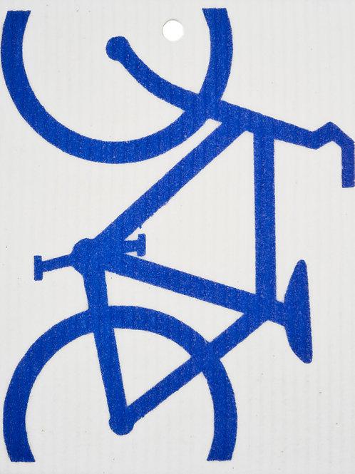 Blue Bike Wash Towel (MIN 6)