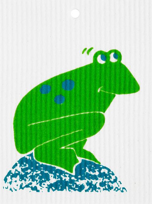 Frog on Rock Wash Towel (MIN 6)