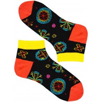 Colorful Neon Pattern Women's Socks