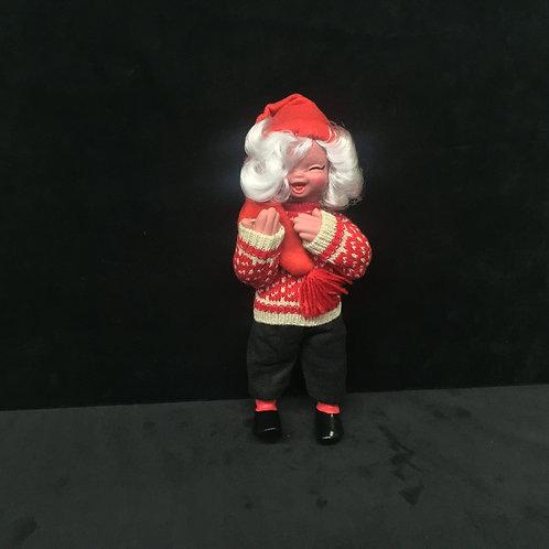 Small Icelander Sweater Girl Nisse Doll