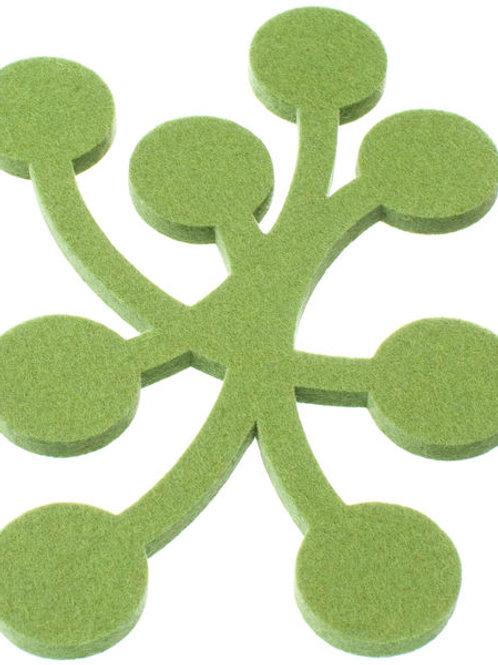 Small Green Marja Trivet