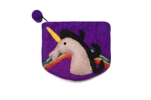 Purple Unicorn Purse