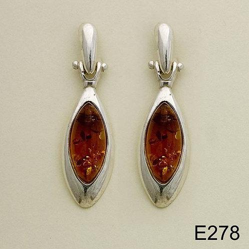 Oval in Drops Earrings