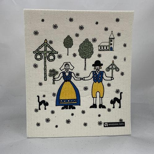 Swedish Couple Swedish Wash Towel