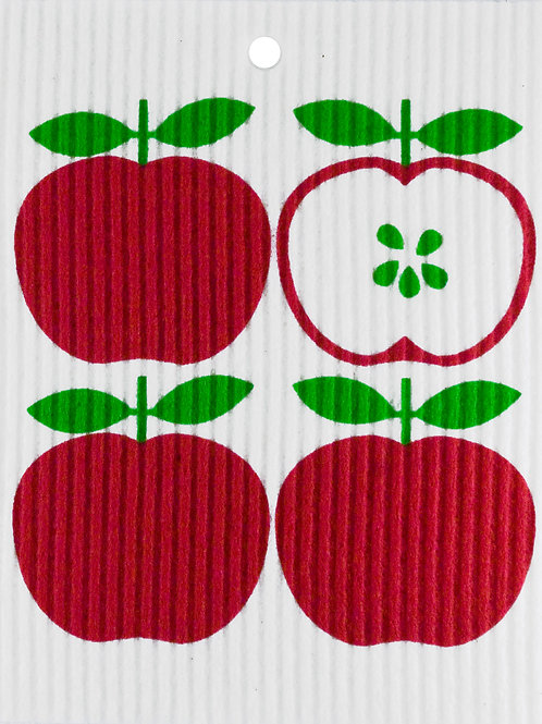 Apples Wash Towel (MIN 6)