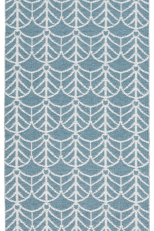 Large Blue Deco Rug