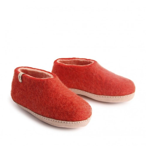 Rusty Red Kids Shoes
