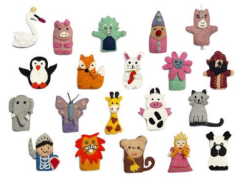 Set of 20 Finger Puppets