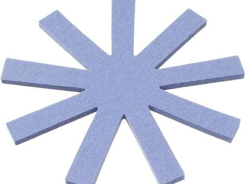 Round Jeans Blue Olki Trivet