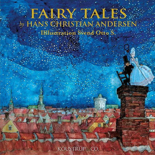 Fairy Tales Square Card Folder w/8 Note Cards