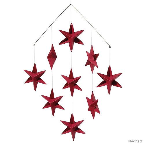 Red Mini Sirius Star Mobile