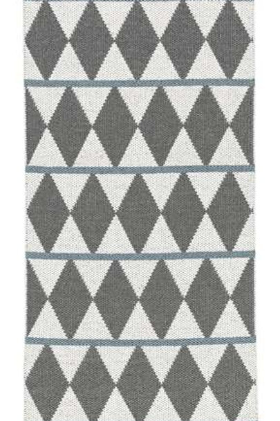 Small Grey Zigge Rug