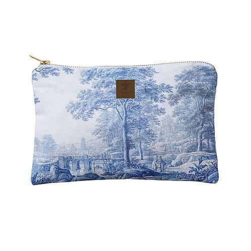 Flat Landscape Cosmetic Bag